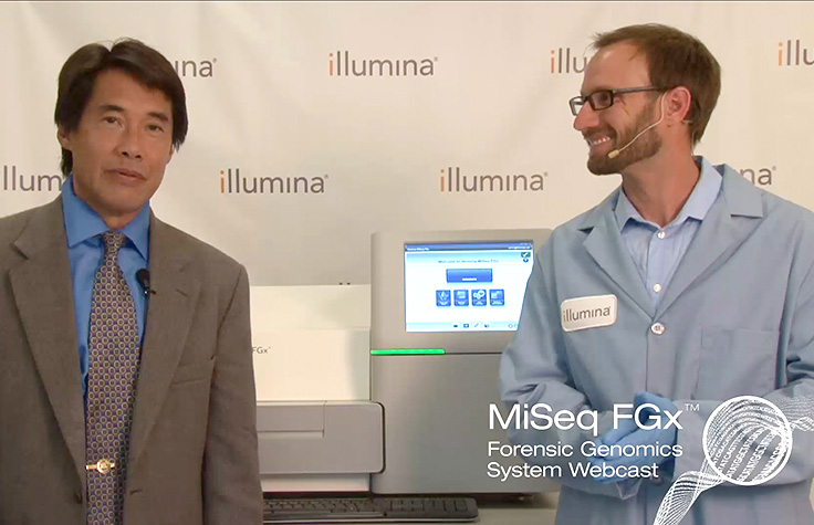 MiSeq FGx Forensic Genomics System Demonstration