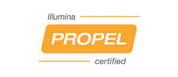 Illumina Propel certified