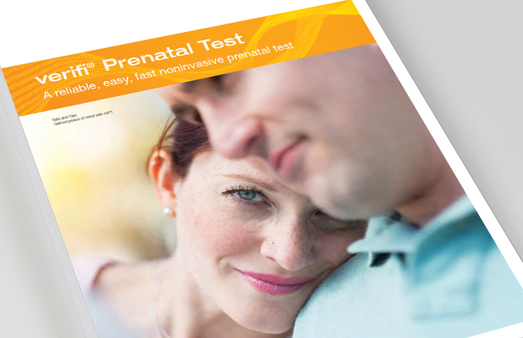 Verifi Prenatal Test brochure for HCPs