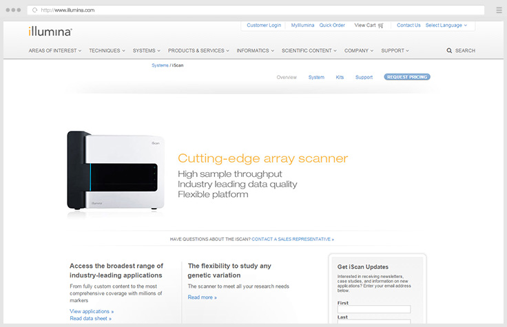 iScan Array Scanner