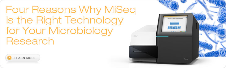 Four Reasons Why MiSeq Is the Right Technology to Trust for Your Microbiology Research